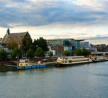 Maastricht Waterside Afternoon by Adam Valstar (Duckfarm)