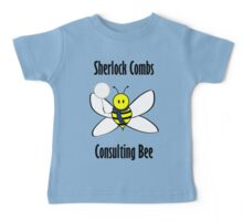 Sherlock Combs, Consulting Bee Baby Tee