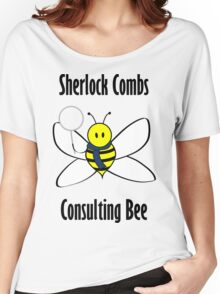 Sherlock Combs, Consulting Bee Women's Relaxed Fit T-Shirt