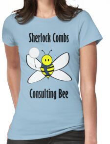 Sherlock Combs, Consulting Bee Womens Fitted T-Shirt