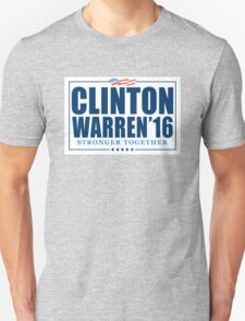 Clinton Warren 2016 Unisex T-Shirt