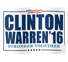 Clinton Warren 2016 Poster
