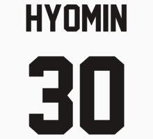 T-ara Hyomin Jersey Kids Tee