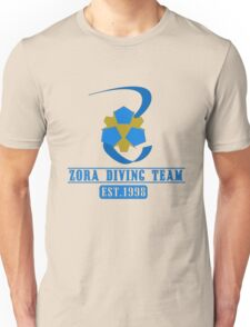 Zora Diving Team Unisex T-Shirt