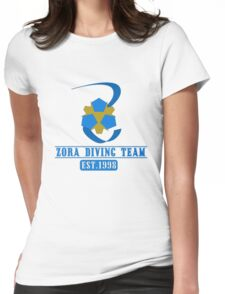 Zora Diving Team Womens Fitted T-Shirt