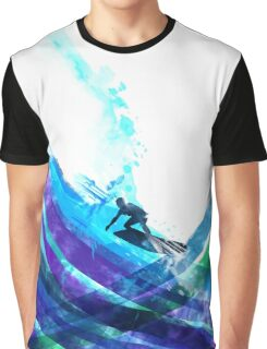 graphic wave Graphic T-Shirt