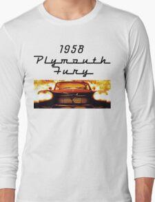 Christine - 1958 Plymouth Fury (Fire) Long Sleeve T-Shirt
