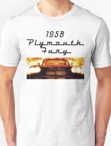 Christine - 1958 Plymouth Fury (Fire) T-Shirt