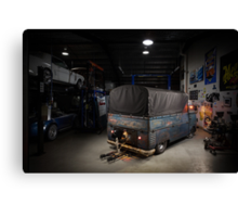 Phil Mizzi's 1954 Volkswagen Kombi Single-Cab Canvas Print