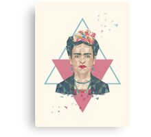 Pastel Frida Canvas Print