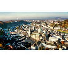 City of Salzburg Photographic Print