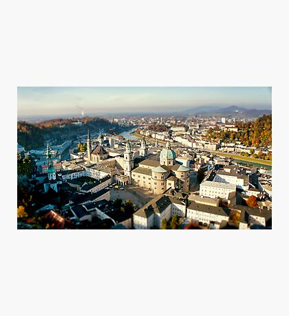 City of Salzburg Photographic Print