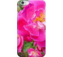 Brilliant Pink Rose iPhone Case/Skin