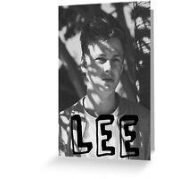 Caspar Lee- Lee Design Greeting Card