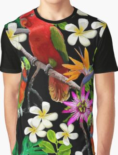 Parrot Graphic T-Shirt