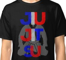 Red, White, and Blue Jitsu Classic T-Shirt