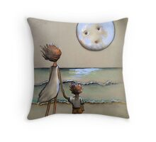 moony Throw Pillow
