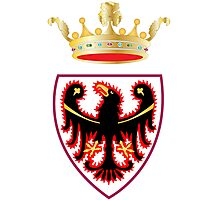 Coat of Arms of Trentino  Photographic Print