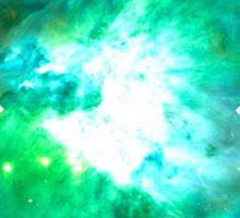 Orion Nebula [Green] | Fresh Universe Sticker