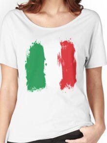 Italy - Paint Splatter Women's Relaxed Fit T-Shirt