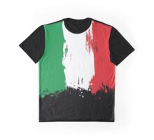 Italy - Paint Splatter Graphic T-Shirt