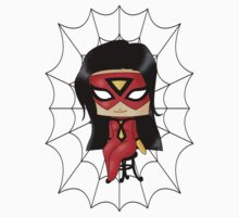 Chibi Spiderwoman Kids Clothes