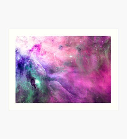 Orion Nebula [Pink Clouds] Stickers and Shirts Art Print