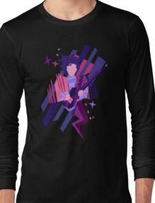 Purple Ghost Long Sleeve T-Shirt