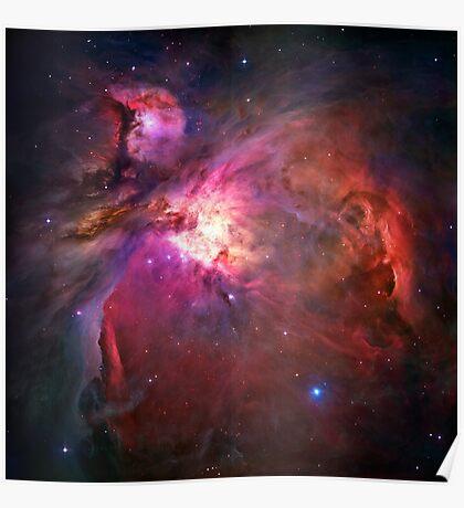 Orion Nebula [Pink]   Fresh Universe Poster