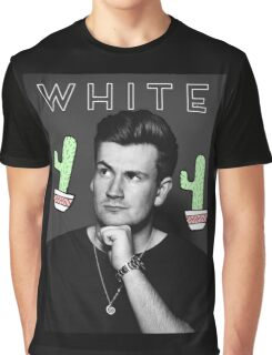 Oli White- White Design Graphic T-Shirt