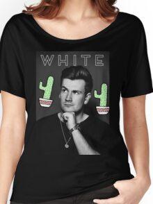 Oli White- White Design Women's Relaxed Fit T-Shirt