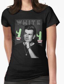 Oli White- White Design Womens Fitted T-Shirt