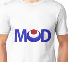 Mod wordplay Unisex T-Shirt