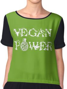 Vegan Power Chiffon Top