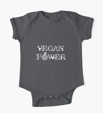Vegan Power One Piece - Short Sleeve
