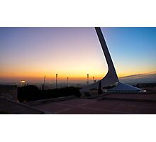 Barcelona Sunset Photographic Print