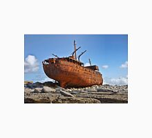 rusty old ship aran islands, county clare, ireland Unisex T-Shirt