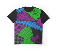 Patchwork Punk Graphic T-Shirt