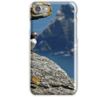 Puffin Skellig Island, Ireland iPhone Case/Skin