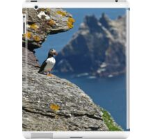 Puffin Skellig Island, Ireland iPad Case/Skin