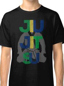 Jiu Jitsu Graphic Letter Classic T-Shirt