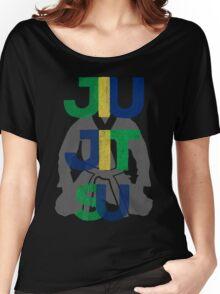 Jiu Jitsu Graphic Letter Women's Relaxed Fit T-Shirt