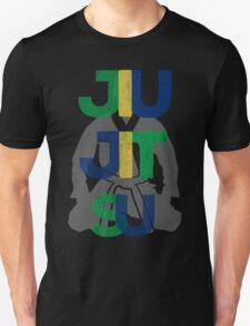 Jiu Jitsu Graphic Letter Unisex T-Shirt