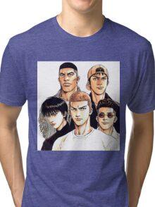Slam Dunk #02 Tri-blend T-Shirt