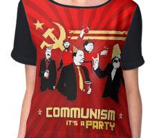 Communist party! Chiffon Top