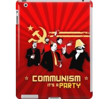 Communist party! iPad Case/Skin