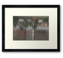 Daytime Reflections of Macau # 2 Framed Print