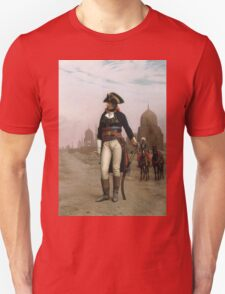Jean-Leon Gerome - Napoleon In Egypt. Man portrait: strong man, boy, male, beard, business suite, masculine, boyfriend, smile, manly, sexy men, mustache Unisex T-Shirt
