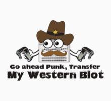 Go ahead Transfer my Western Kids Tee