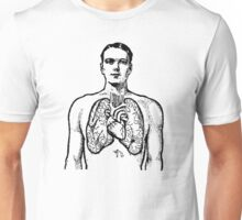 Man and Lungs Unisex T-Shirt